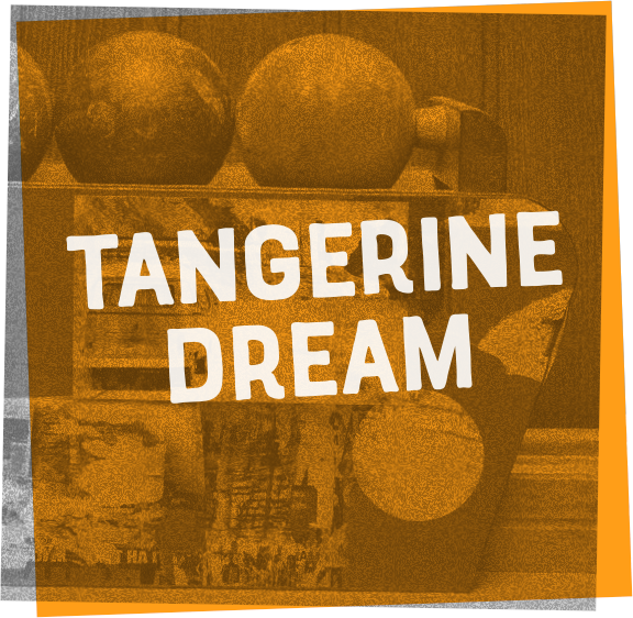 Tangerine Dream is a high THC Sativa strain with citrus aromas and purple buds